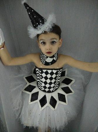 "Фото. К балету ""Щелкунчик"" - костюм Арлекина.  Автор работы - Sobima"
