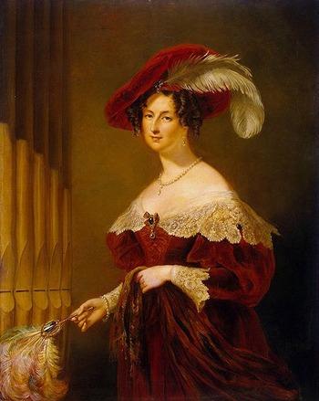"Фото. Дж. Хейтер ""Portrait of Elzbieta Branicka-Woroncow (1792-1880)"""