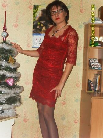 Фото. Новогоднее платье.  Автор работы - TessLady