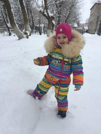 Фото. Зимний комбинезон для дочки.  Автор работы - Saven_ok