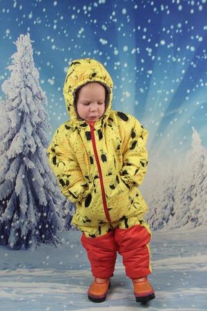 Фото. Зимний комбинезон из OTTOBRE.  Автор работы - Elly78