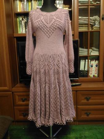 Фото. Платье по мотивам ажурной блузы от т Lene Holme Samsoe.  Автор  работы - oksana2008