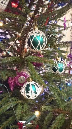 Фото. Новогодние шарики.  Автор работы - dortik