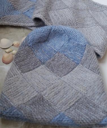 Фото. Комплект платочкой - шапка и снуд.  Автор  работы - Svibel