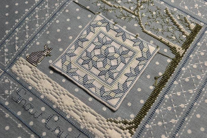 Фото. Зимнее одеялко (с квилтом) от Kingsland.  Автор работы - Gala Lipetsk