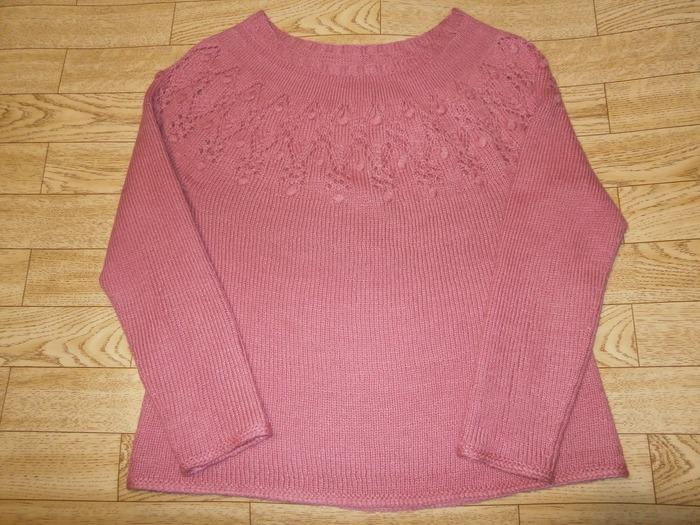 Фото. Пуловер по мотивам Arwen от Isabell Kraemer.  Автор  работы - lediosen