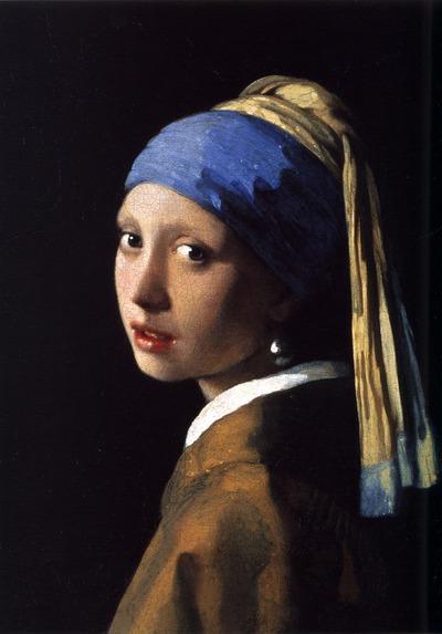 """Фото. Ян Вермеер """"Девушка с жемчужной серёжкой"""" (ок. 1665)."""