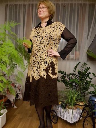 Фото. Фриформенное платье. Автор работы - Муришик