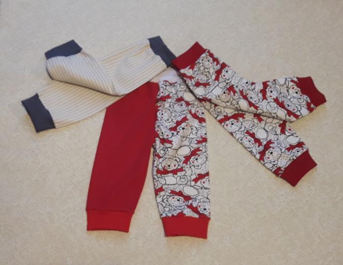 Фото. Внучке ползательные штанишки.  Автор работы - Лялеччка