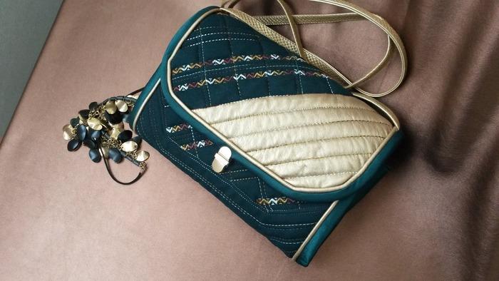 Фото. Сумочка -  текстиль и искусственная кожа.  Автор работы - Lud_Mila