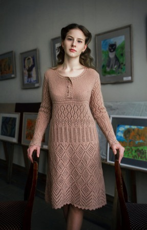 Фото. Платье A pure soul. Автор работы - natsikzv