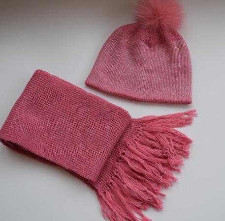 Фото. Комплект в подарок для девочки, которая любит все розовое и блестяще.  Автор работы - Анечка-Иванечка