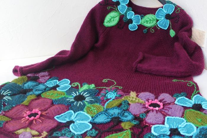 Фото. Платье с цветами.  Автор работы - innasun