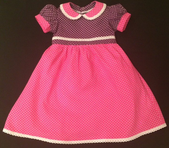 Фото. Платье для малышки.  Натуральная ткань, кружево х/б, атласная лента. Автор работы - surely