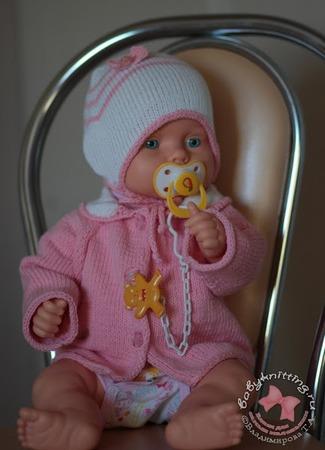 Фото. Комплект для малыша. Пряжа cotton golg alize. Автор работы - J3jlada