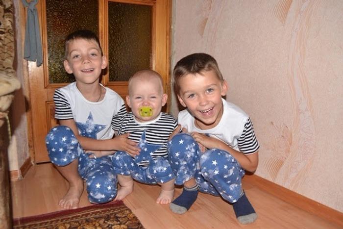 Фото. Три брата. Автор работы - Оля1986