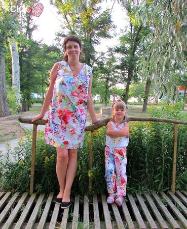 Фото. Мама и дочка. Автор работы - кСюСям