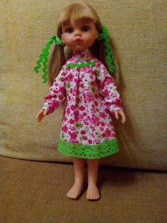Фото. Платье кукле. И внучке! Автор работы - tanya4