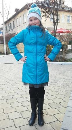 Фото. Курточка по выкройке парки из OTTOBRE. Автор работы - Александра-81