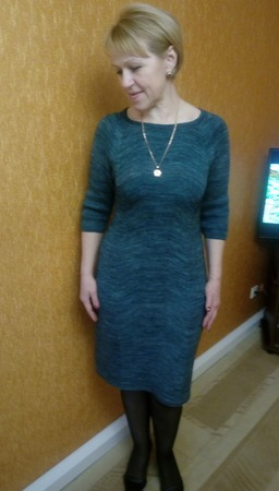 Фото. Платье.  Пряжа malabrigo sosk.  Автор работы - Лана 39