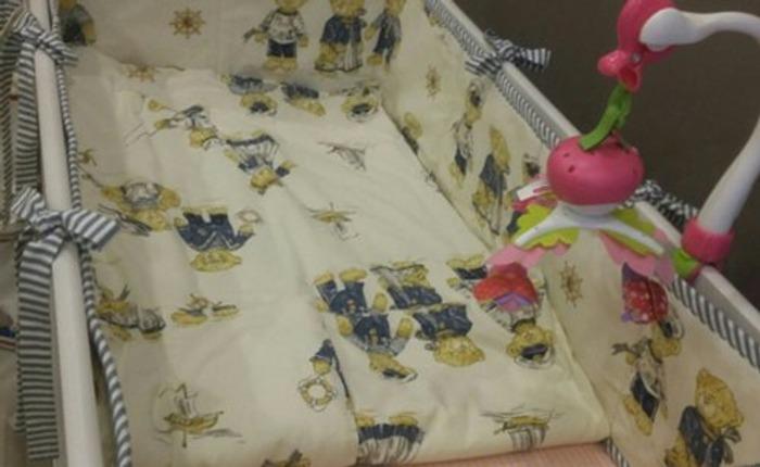 Фото. Бортики и пододеяльник, для внучки Алиночки.  Автор работы - Lyudmila_So