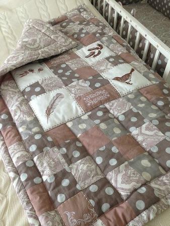 Фото. ... и стеганое одеяло. Автор работы - Surochek
