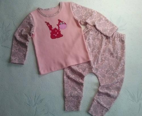 Фото. Пижамка из интерлока для внучки.  Автор работы - Lyudmila_So