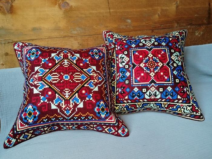 Фото. Киргизские подушечки от PANNA.  Автор работы - Zoyka