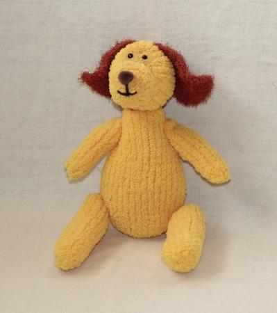 Фото. С Новым годом! Желтая собака. Автор работы - Red Oks