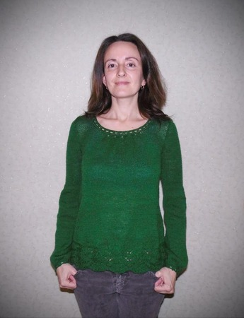 Фото. Джемпер-блуза vogue design9 early fall 2013. Автор работы - paulinchen