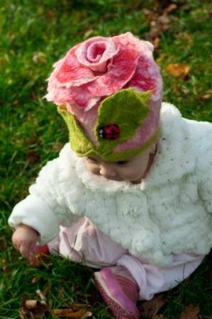 Фото. Шапочка для дочки. Автор работы - Пасочка