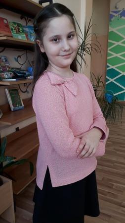 Фото. Свитшот для девочки.  Автор работы - YasyaMasya