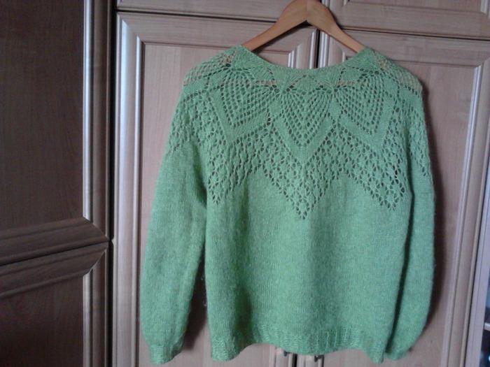 """Фото. Ажурная блуза из мохера от Lene Holme Samsoe"""".  Автор работы - Марина Смоленск"""