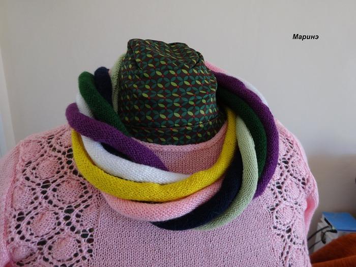 Фото. Туника и оригинальный шарфик.  Автор работы - Гаврюндя