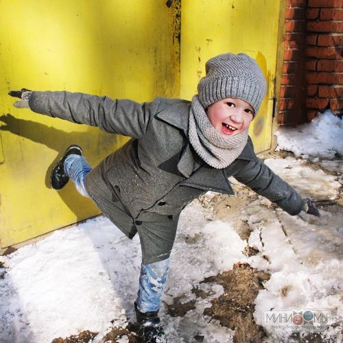 Фото. Зимнее пальто для мальчика. Автор работы - Saven_ok