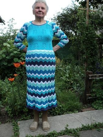 """Фото. """"Тропическая лагуна"""". Платье для мамы - подарок на день рождения."""
