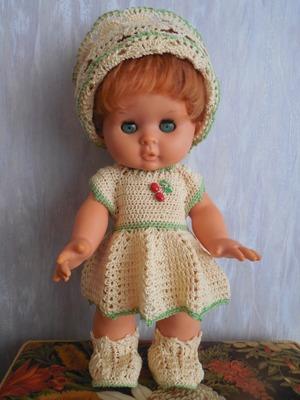 Фото. Обновки для куклы Глаши - Аглаи.   Автор работы - Galas