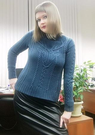 Фото. Давняя хотелка Stag Head Pullover by Norah Gaughan.  Автор работы - НатТусся