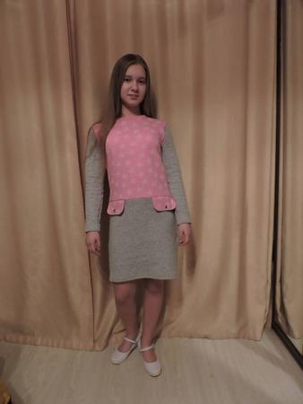 Фото. Теплое уютное платье. Автор работы - Лориэль