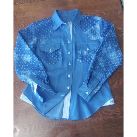 Фото. Джинсовая рубашка.  Автор работы - Наталья-я