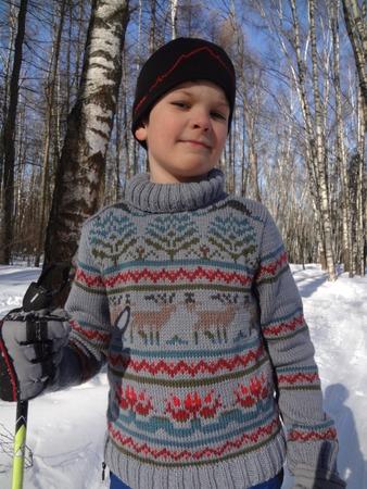 Фото. Красный ЦВЕТ: уступи лыжню! Автор  фото - Trud2010