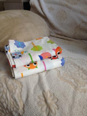 Фото. Простынки в детскую кроватку.  Автор работы - eka911