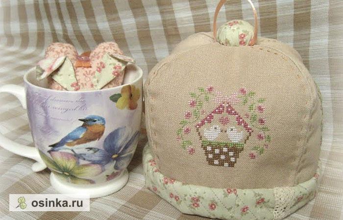 """Фото. Набор для чаепития под кодовым названием """"Медитация"""" - в комплекте еще красивые салфетки!   Автор работы - ВладушА"""