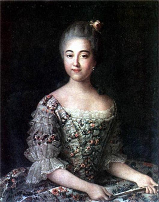 Фото. И.Аргунов Портрет B. П. Шереметьевой (до 1768 г.).