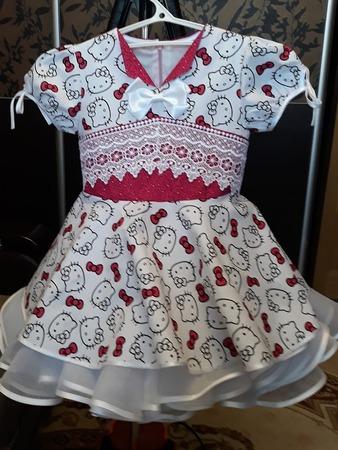 Фото. Платье Китти с кружевом. Автор  работы - Tasha27