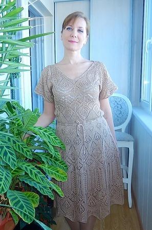 """Фото. Платье """"Сливочная помадка"""" к 8 Марта! Автор  фото - Краля"""