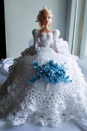 Фото. Кукла - Снежная королева.   Автор работы - Lelika13