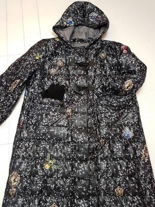 Фото. Простое теплое пальто для доченьки  Автор работы - Лоскутик