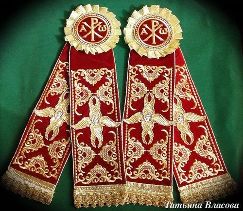 Фото. Праздничные Пасхальные украшения для свечей.   Автор работы - Anfia