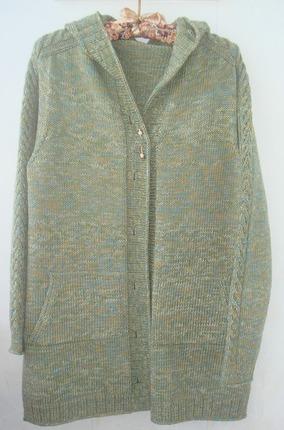 Фото. Кардиган связан по описанию пальто Coat for Roxane дизайнер Katrin Schneider. Автор работы - ВеРучки